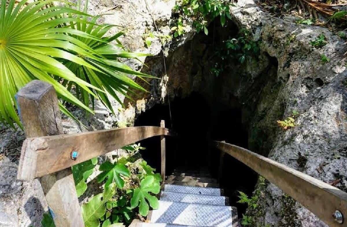 Cenote Siete Bocas - Entrada