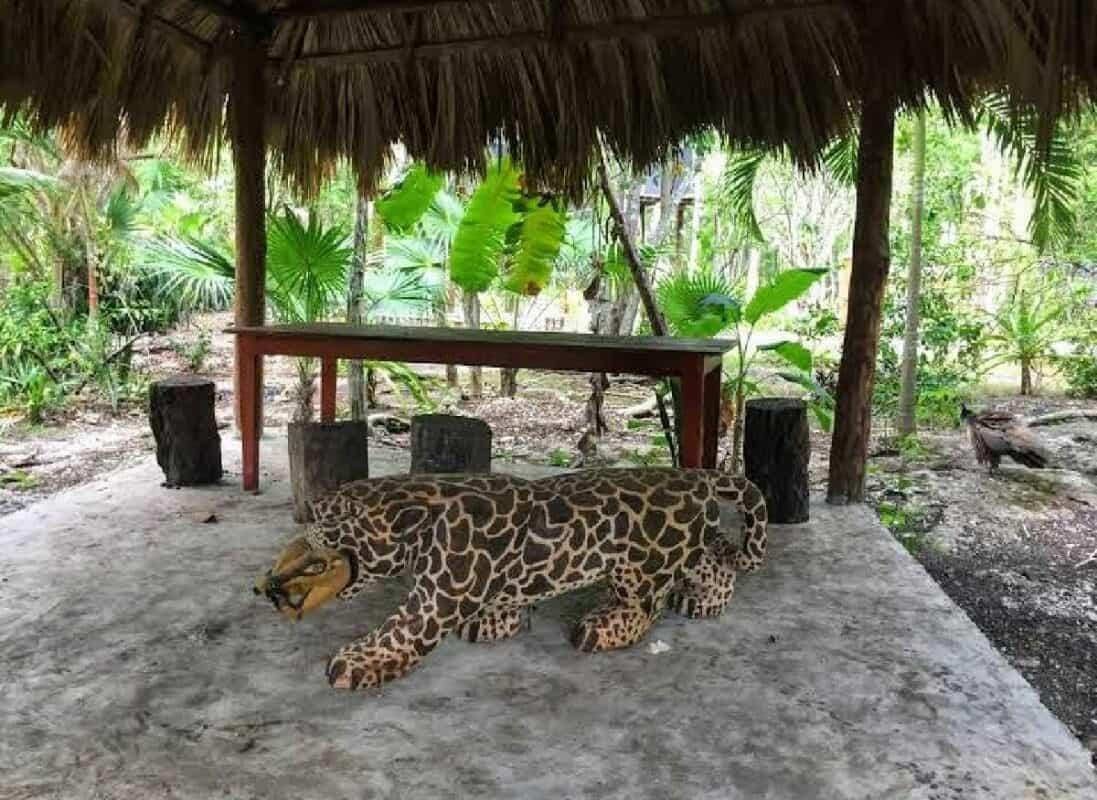 Cenote Siete Bocas - instalaciones