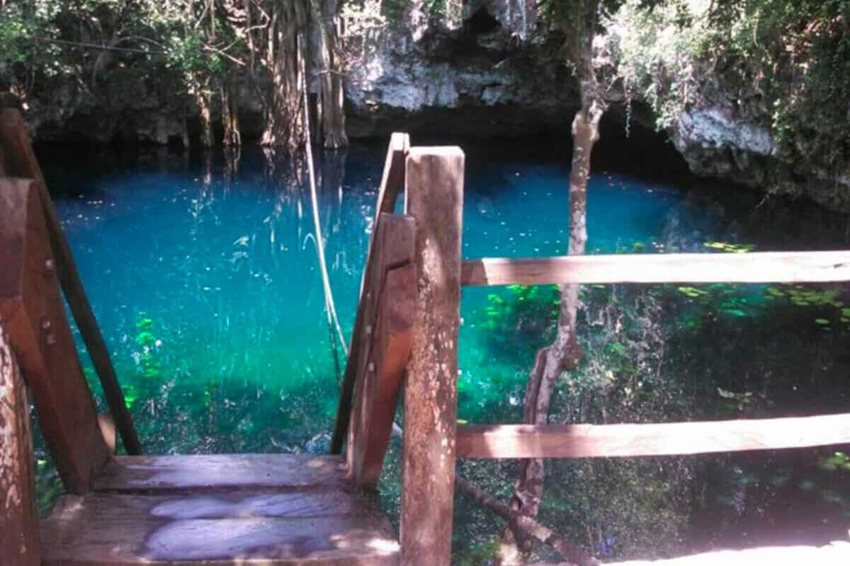Cenote Verde Lucero - Diversión en el Cenote Verde Lucero