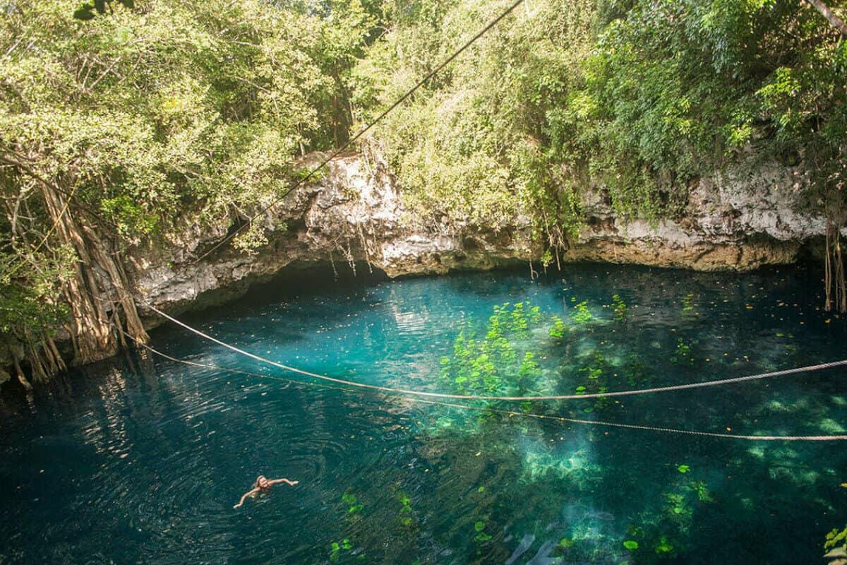 Cenote Verde Lucero - Qué saber del Cenote Verde Lucero