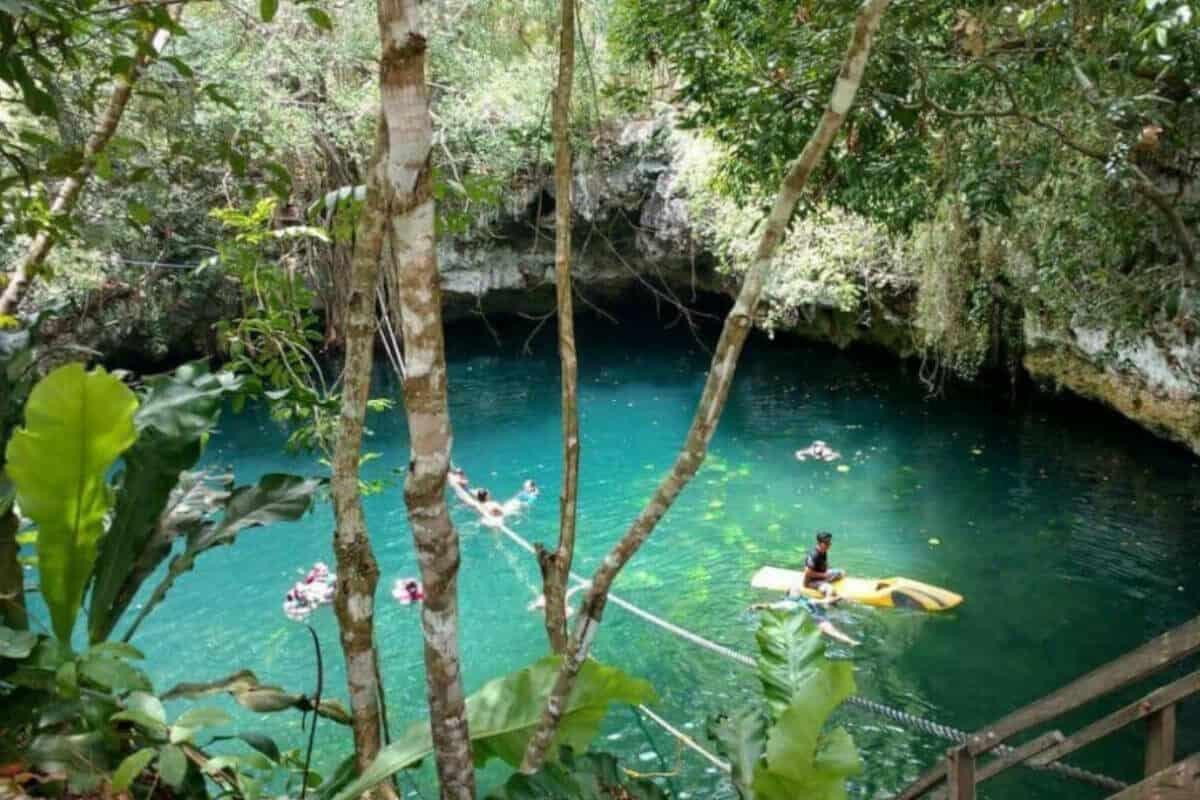 Cenote Verde Lucero - Qué servicios ofrece el Cenote Verde Lucero