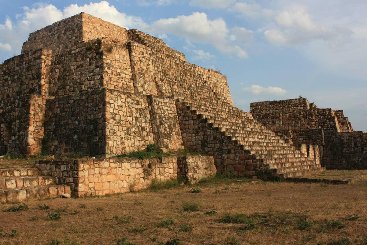 Oxkintok Yucatán - Un poco de historia