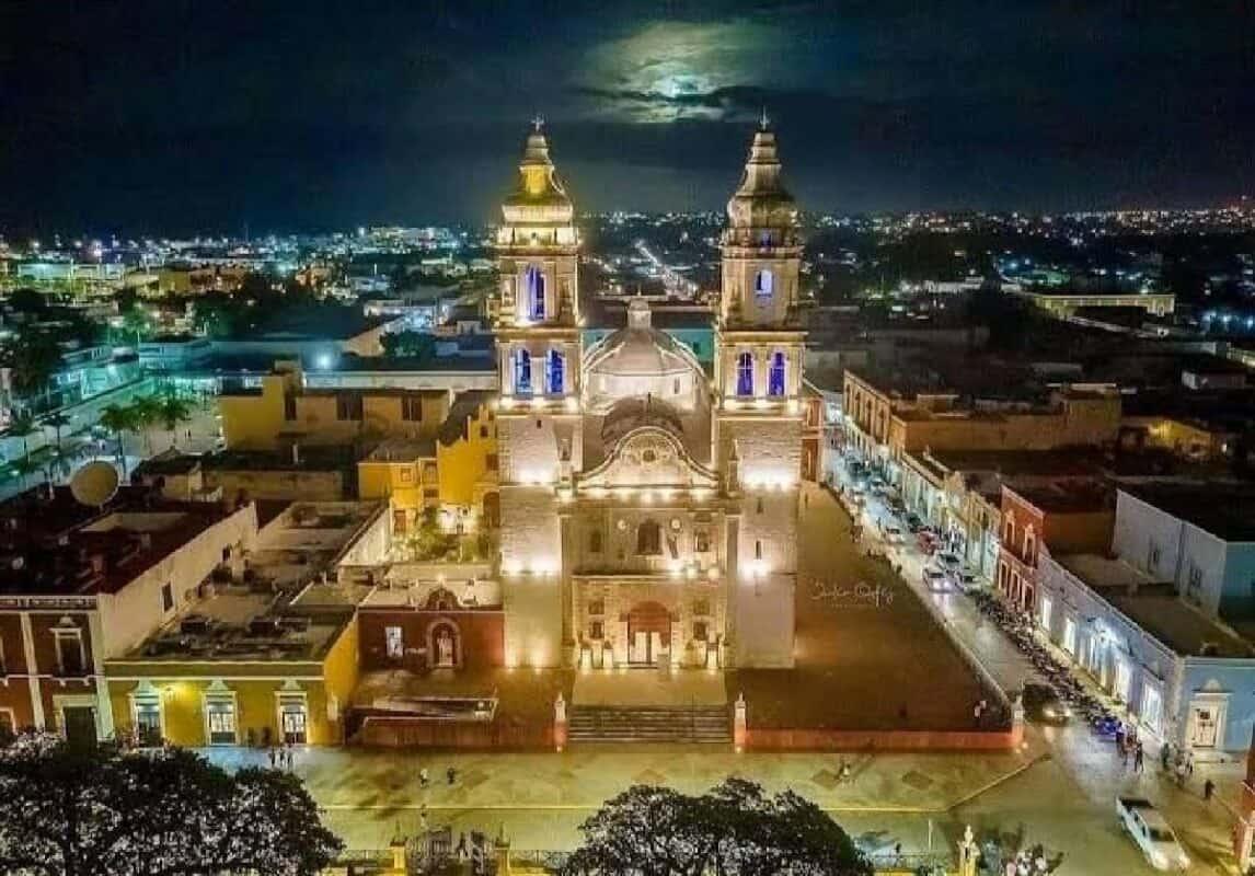 Qué hacer en Campeche - Catedral