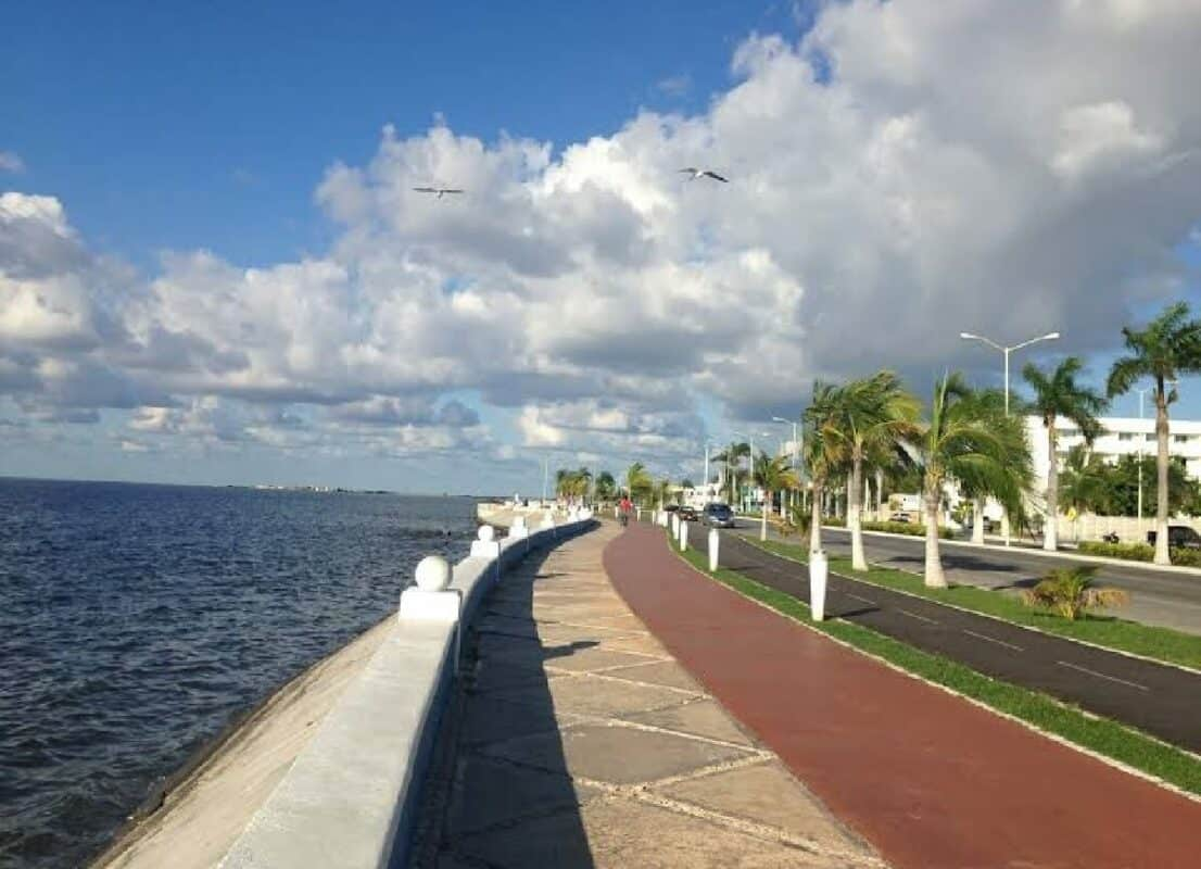 Qué hacer en Campeche - Malecón