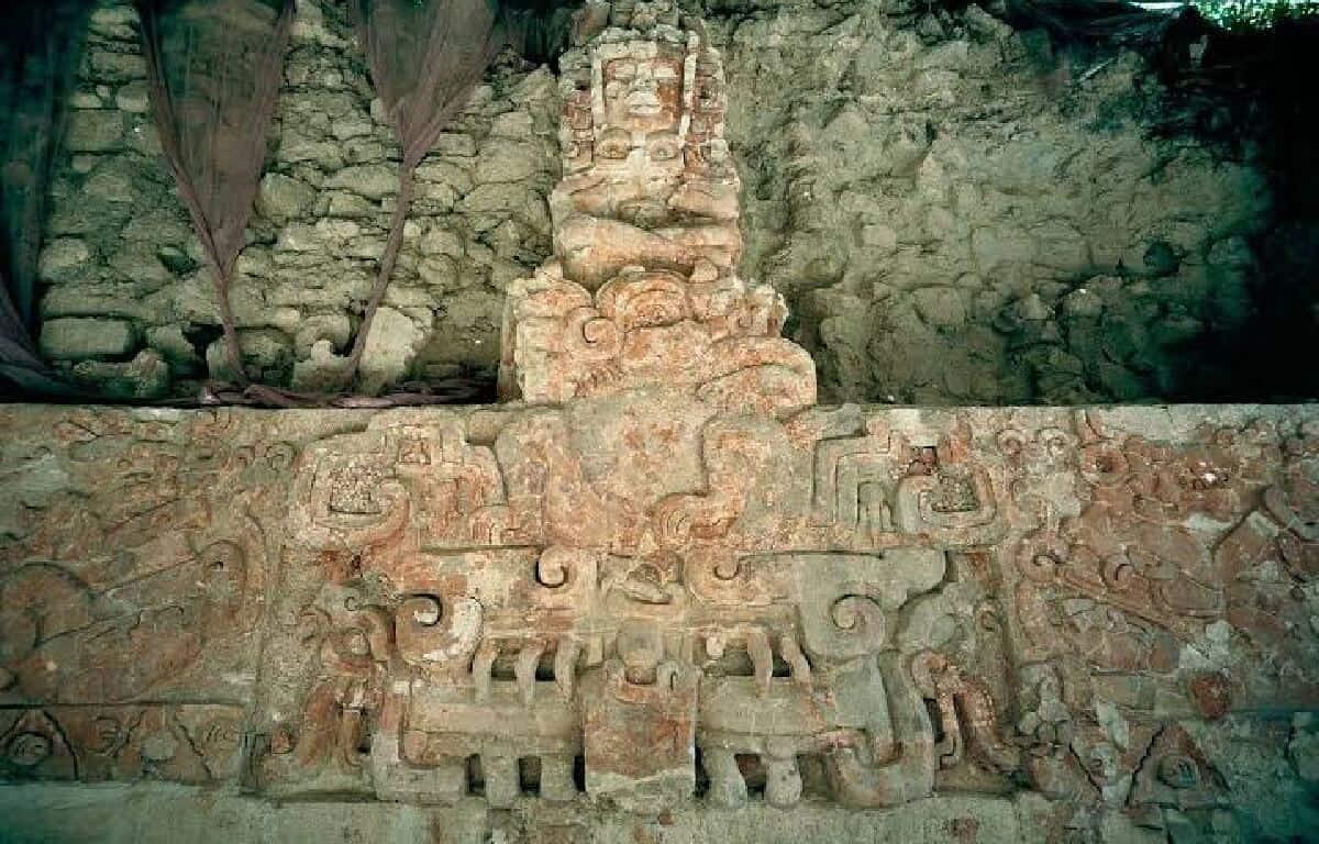 Qué hacer en Campeche - Mural del Universo Balamkú