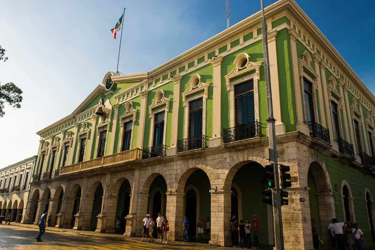 Qué hacer en Mérida - El Palacio de Gobierno