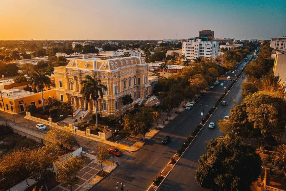 Qué hacer en Mérida - Recorrer el Paseo Montejo