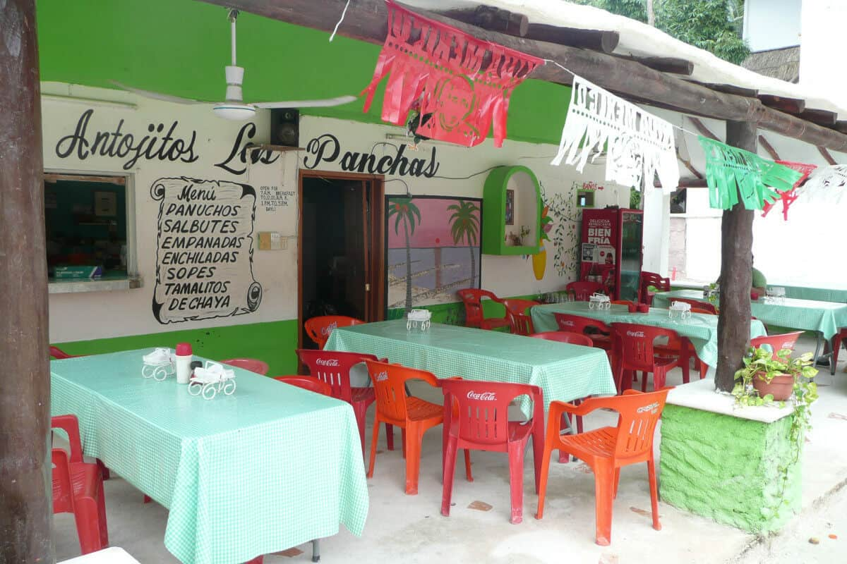 Dónde comer en Holbox - Las Panchas