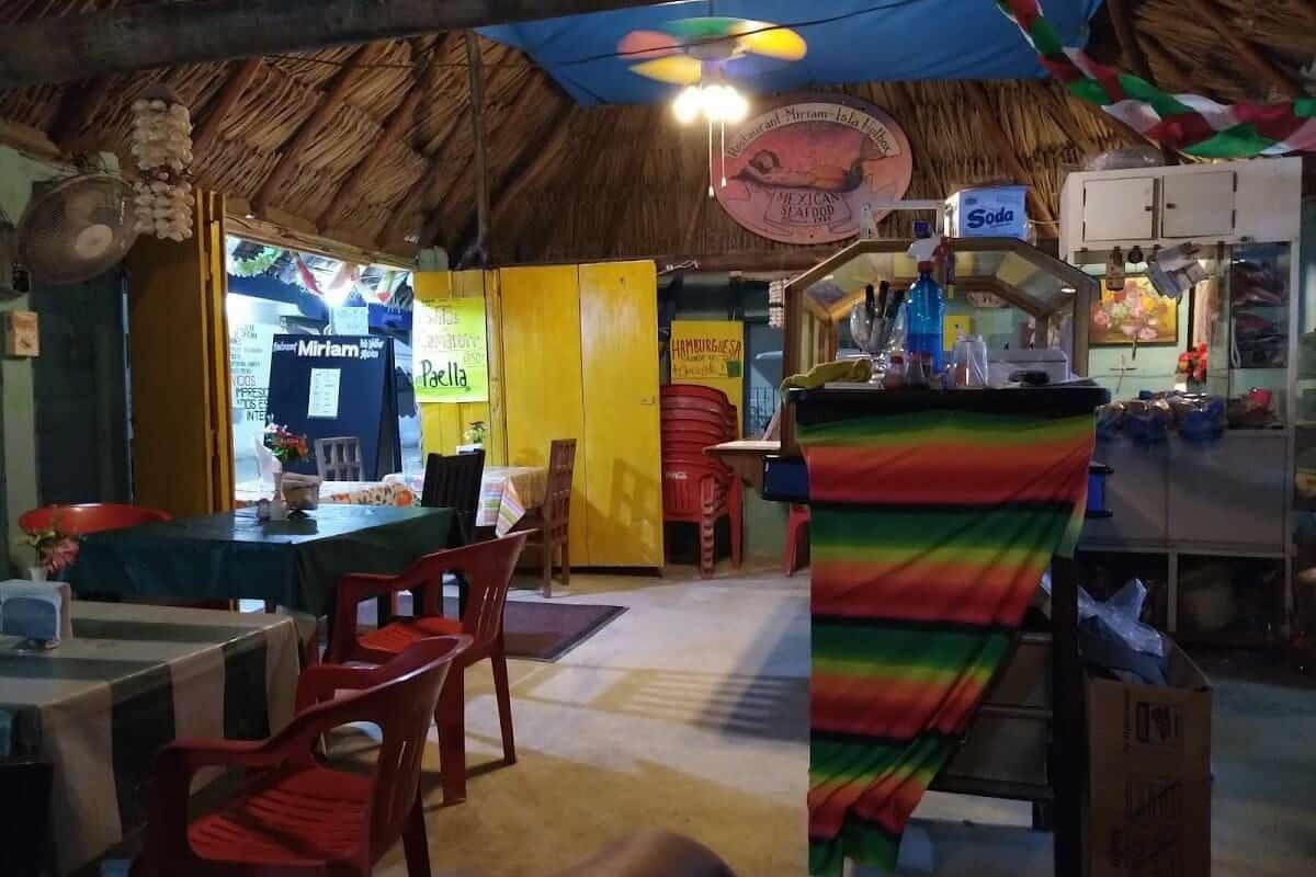 Dónde comer en Holbox - Miriam