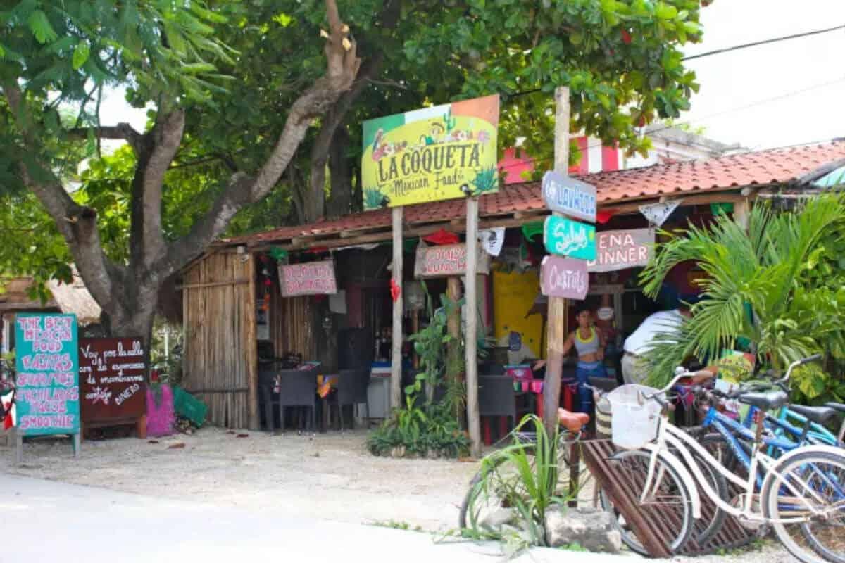 Dónde comer en Tulum - La Coqueta