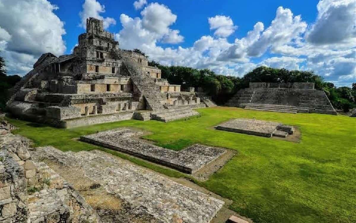 Edzná Campeche - Sitio arqueológico
