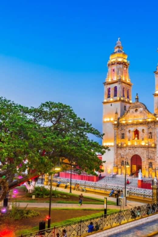 Lugares turísticos de Campeche