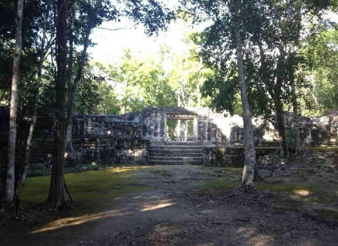 Balamkú Campeche - arquitectura de Balamkú