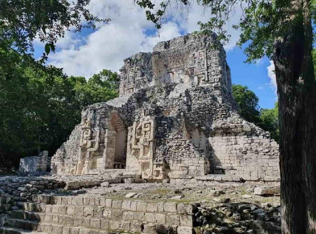 Balamkú Campeche - estructuras
