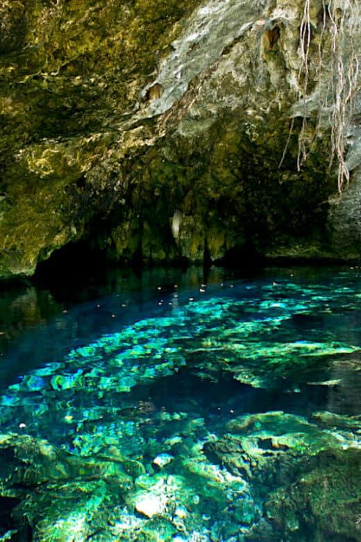 Cenotes en Cobá