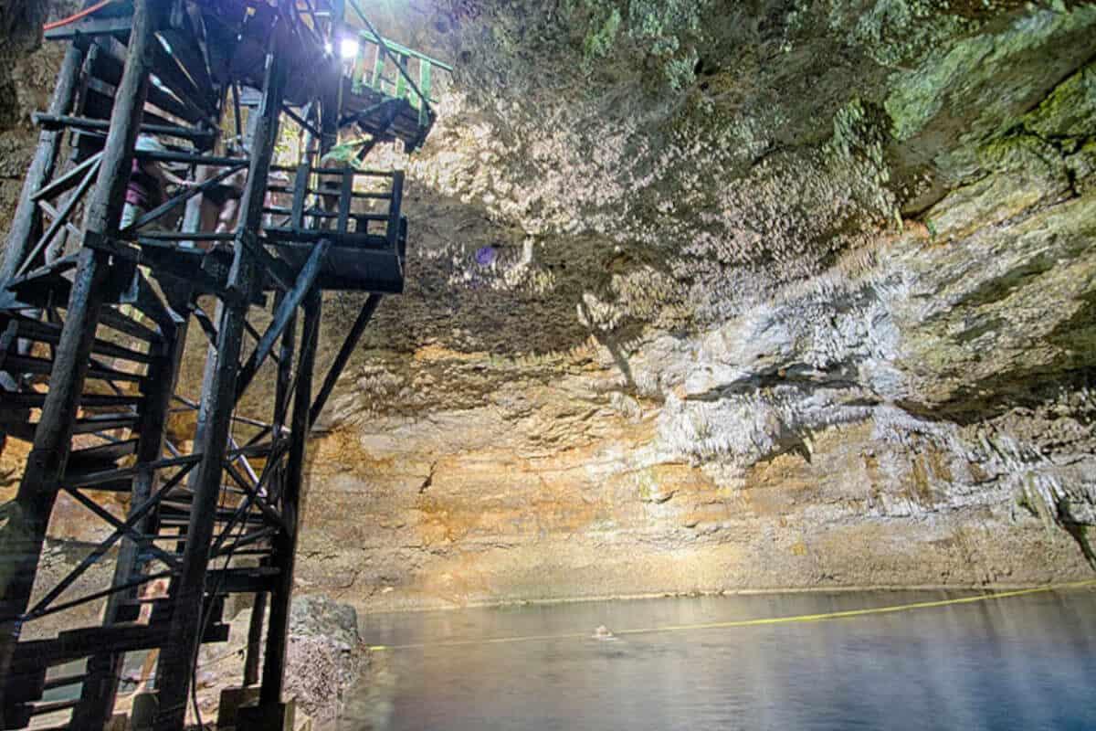 Cenotes en Cobá - Cenote Tamcach-Há