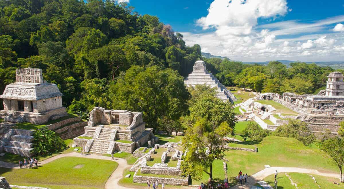 Ciudades principales de los Mayas
