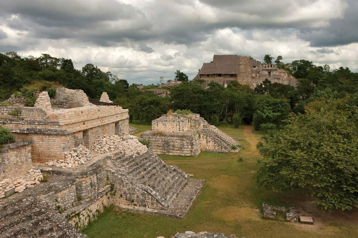 Ciudades principales de los Mayas - Ek Balam de Yucatán