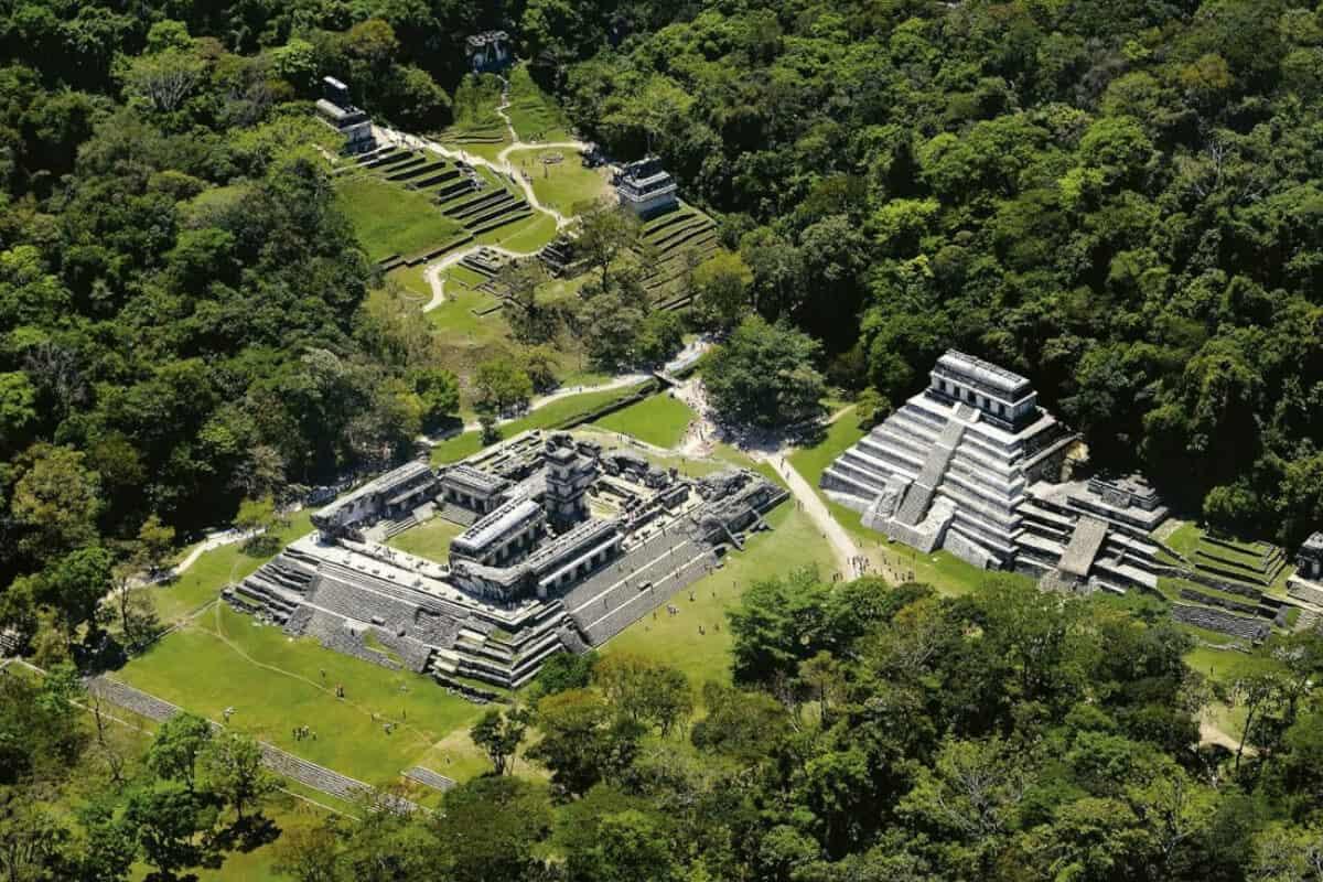 Ciudades principales de los Mayas - El Palenque de Chiapas