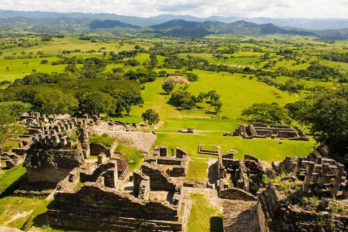 Ciudades principales de los Mayas - Toniná de Chiapas
