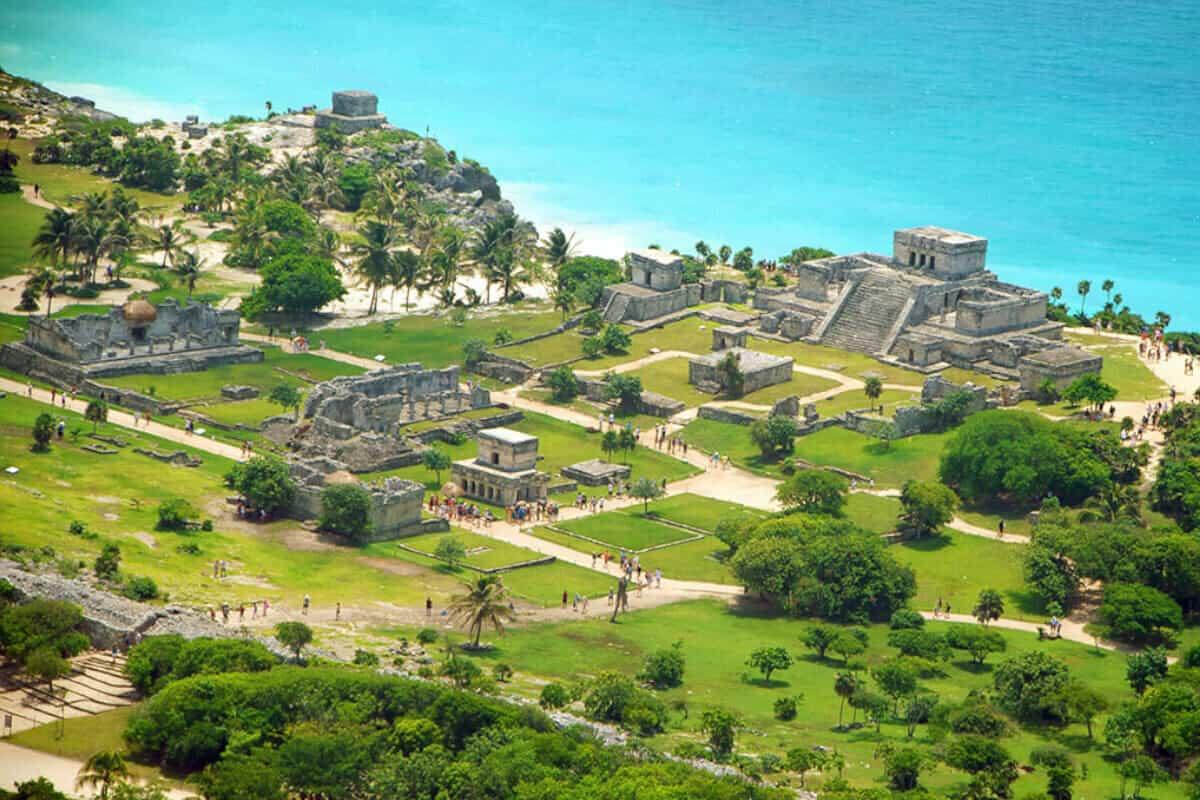 Ciudades principales de los Mayas - Tulum de Quintana Roo