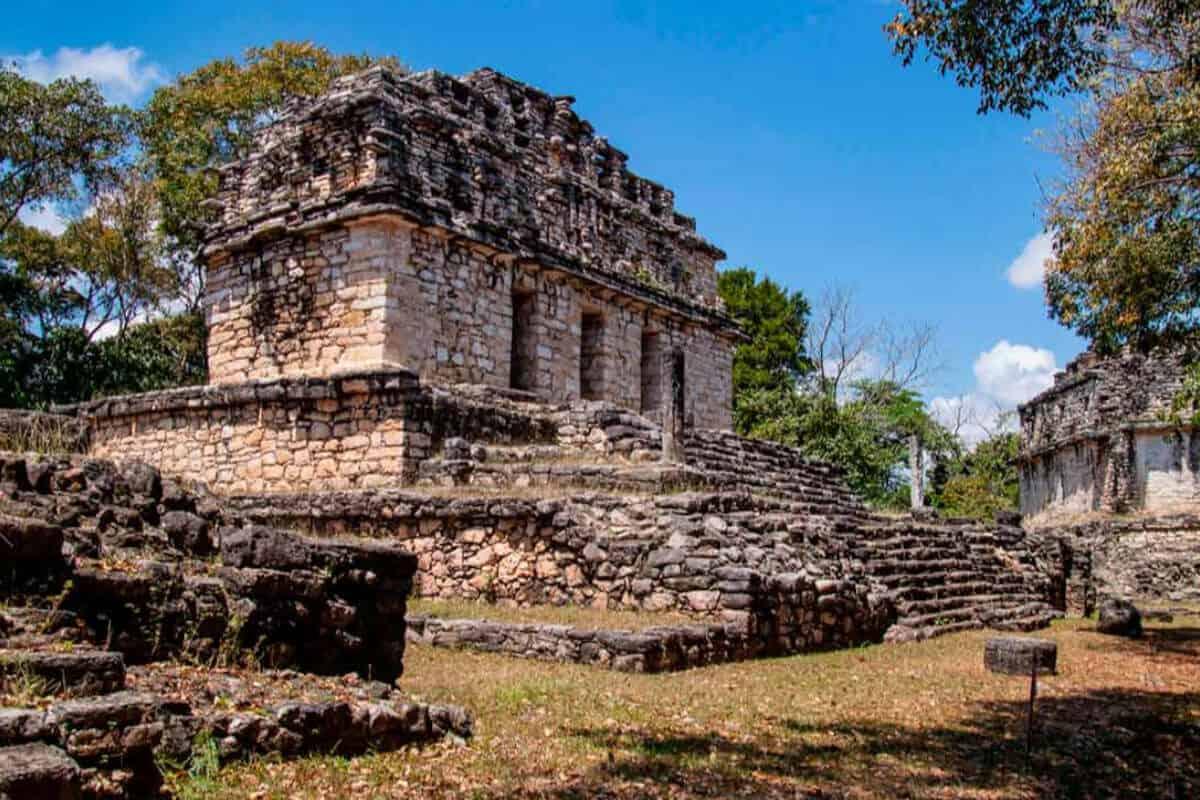 Ciudades principales de los Mayas - Yaxchilán de Chiapas