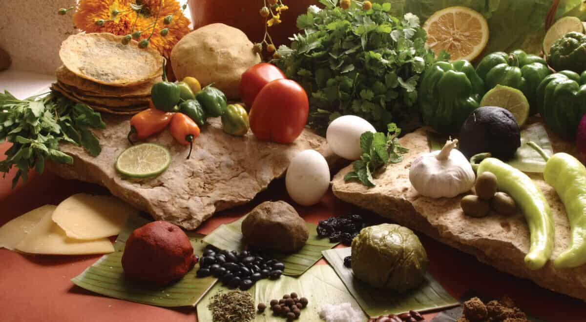 Gastronomía de los Mayas