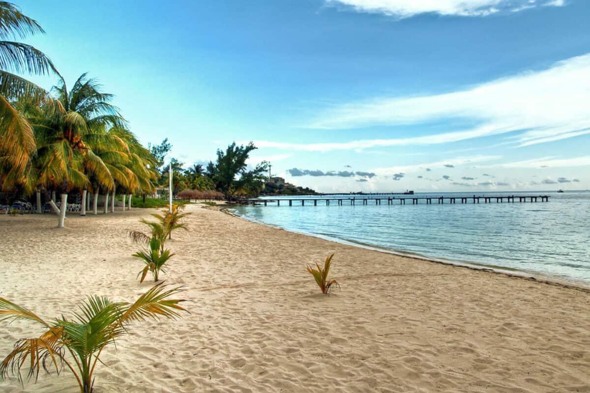 Playas en Isla Mujeres - Playa Lancheros