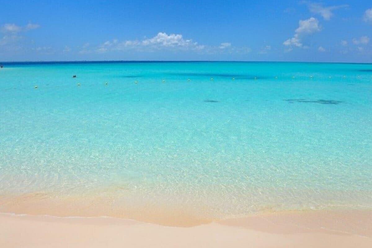 Playas en Isla Mujeres - Playa Norte