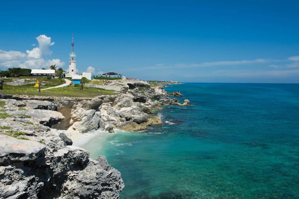 Playas en Isla Mujeres - Playa Punta Sur