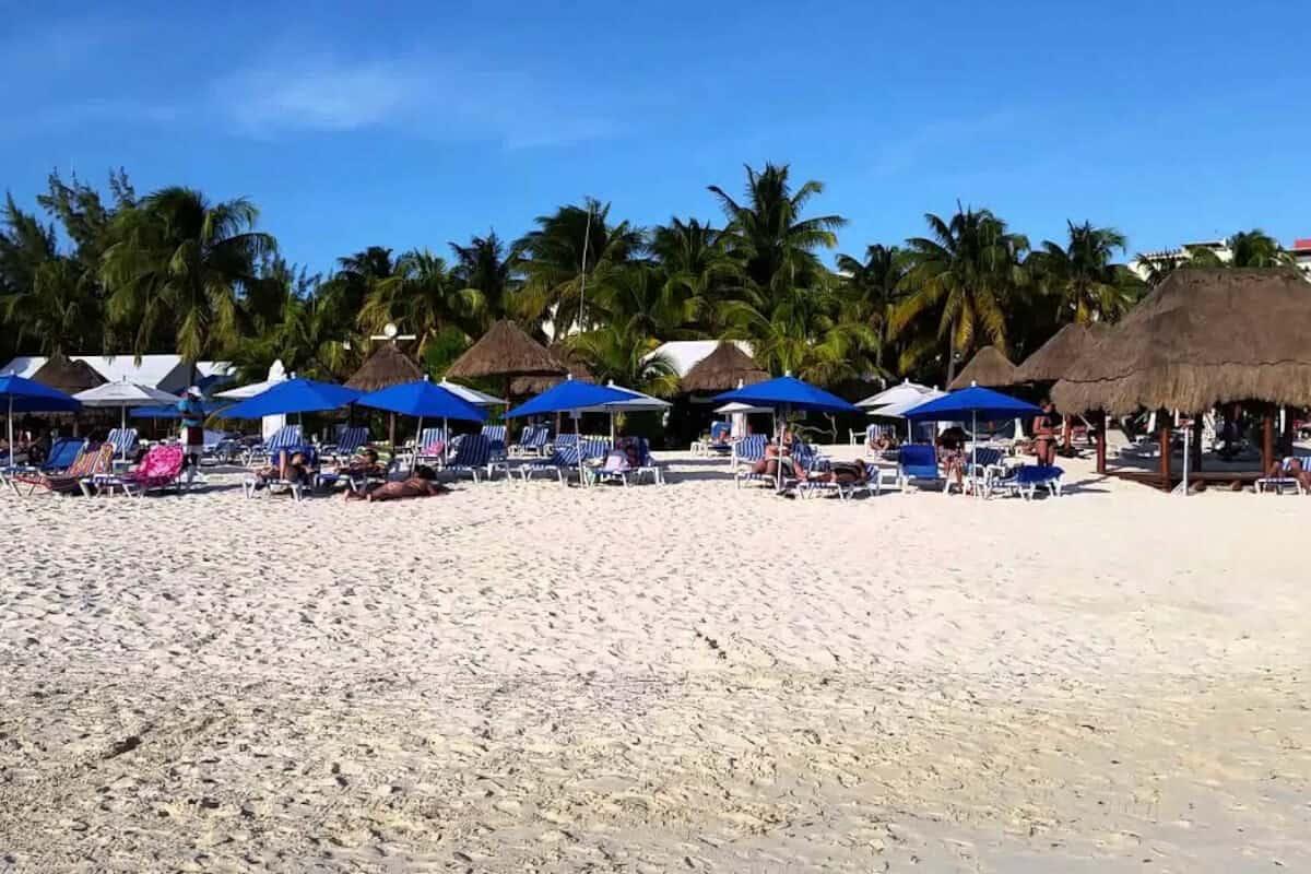 Playas en Isla Mujeres - Playa Sol