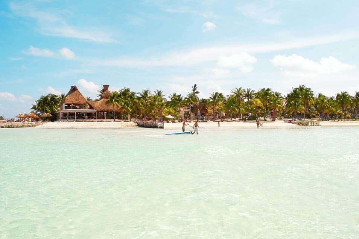 Playas en Isla Mujeres - Playa de Na Balan