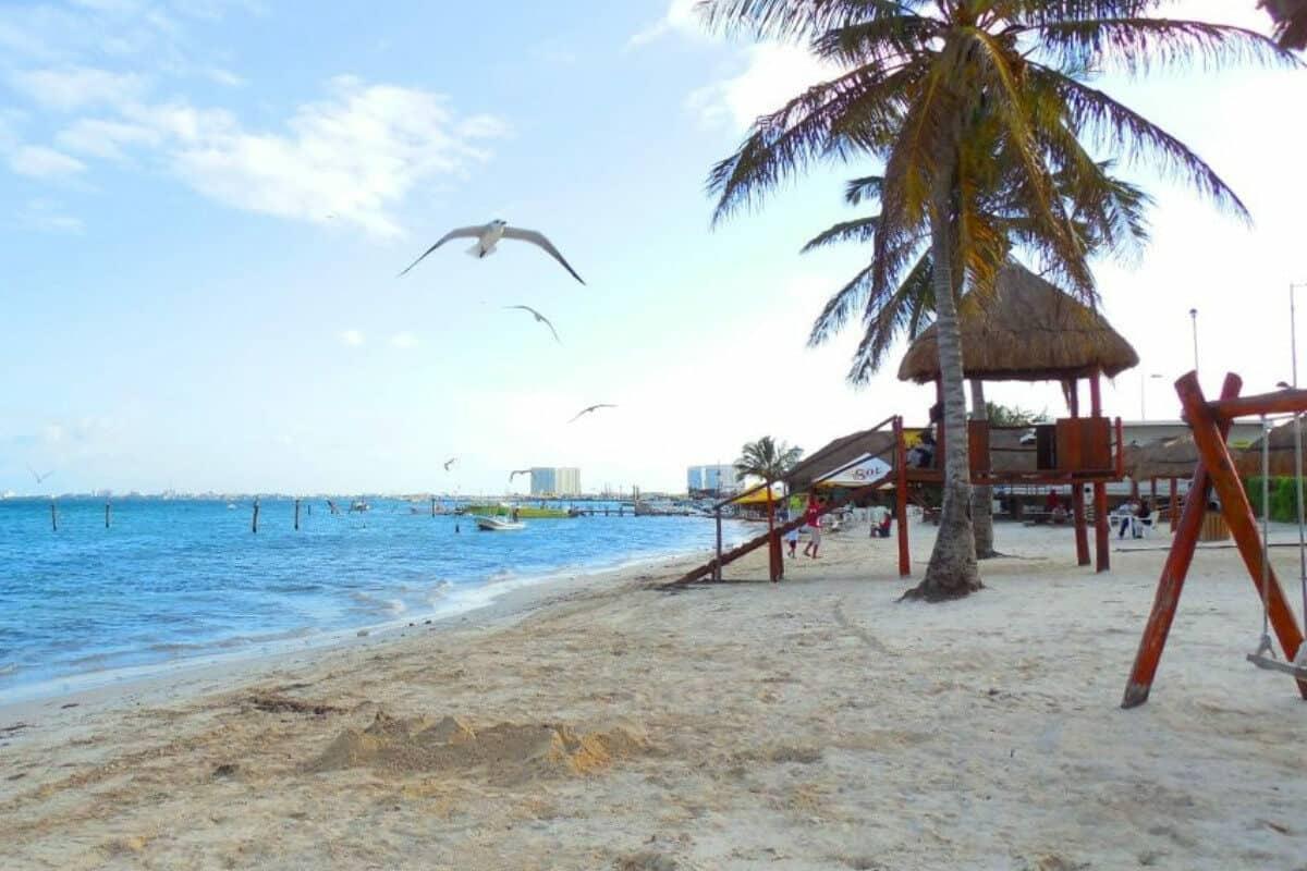 Playas públicas en Cancún - Playa El Niño