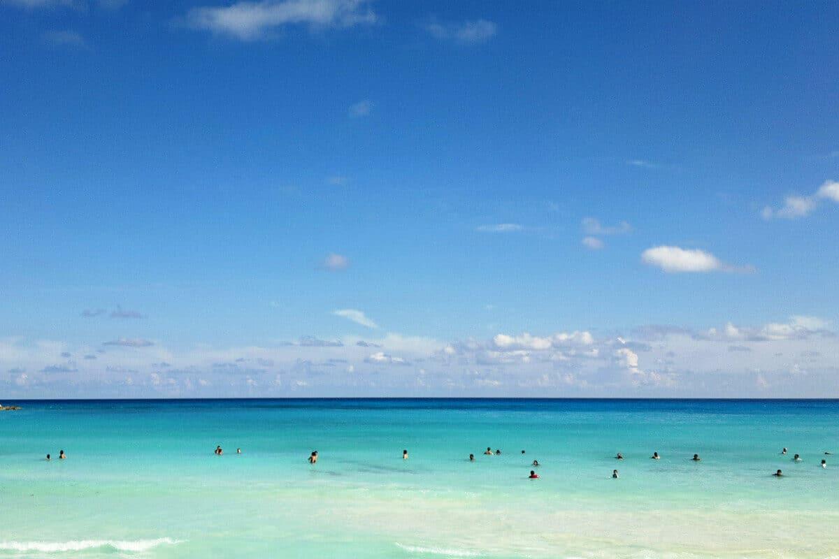 Playas públicas en Cancún - Playa Forum