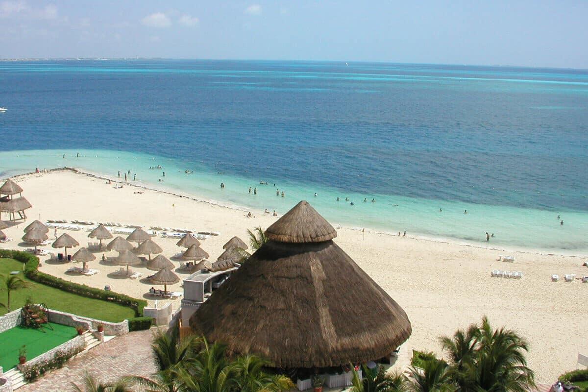 Playas públicas en Cancún - Playa Langosta