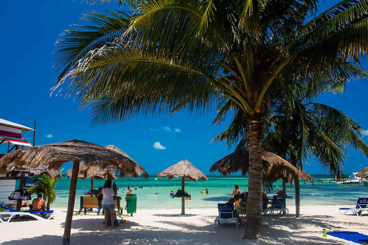 Playas públicas en Cancún - Playa Las Perlas