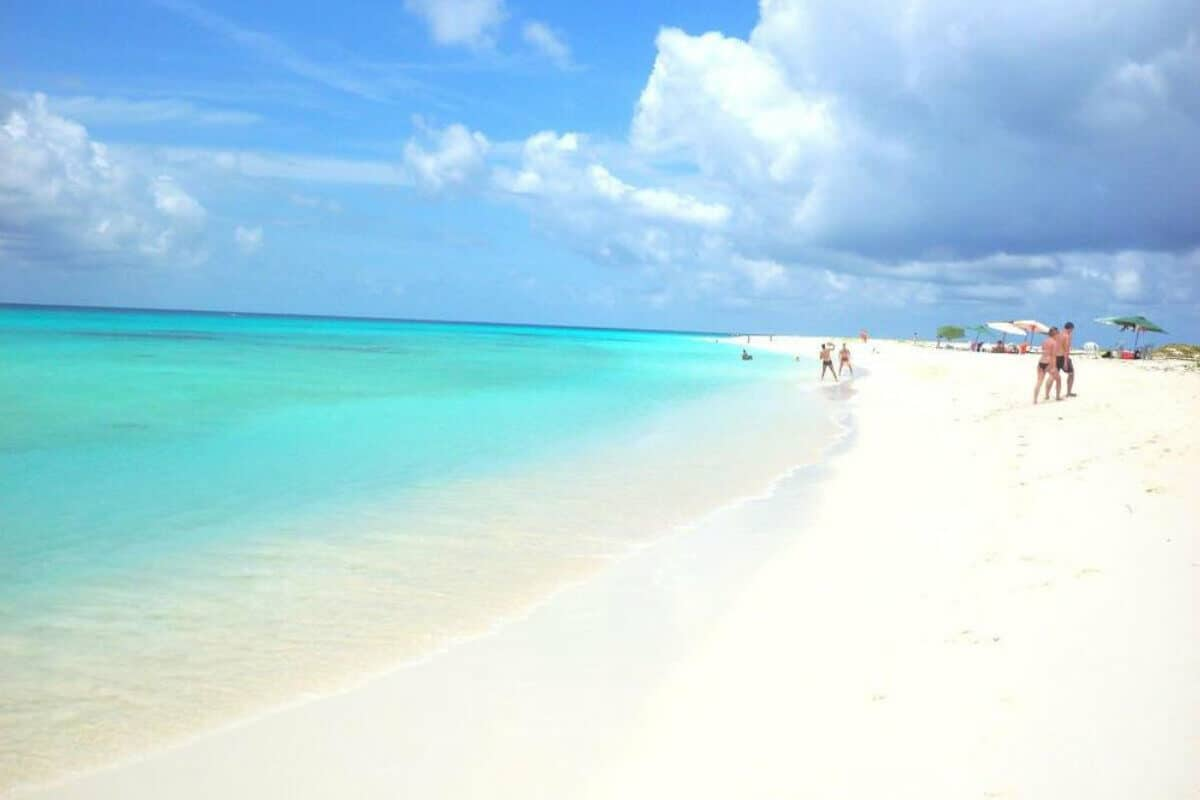 Playas públicas en Cancún - Playa Marlín
