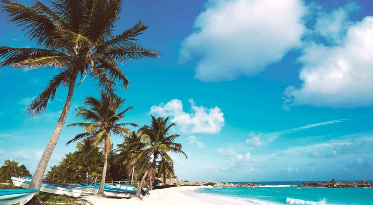 Playas públicas en Cozumel