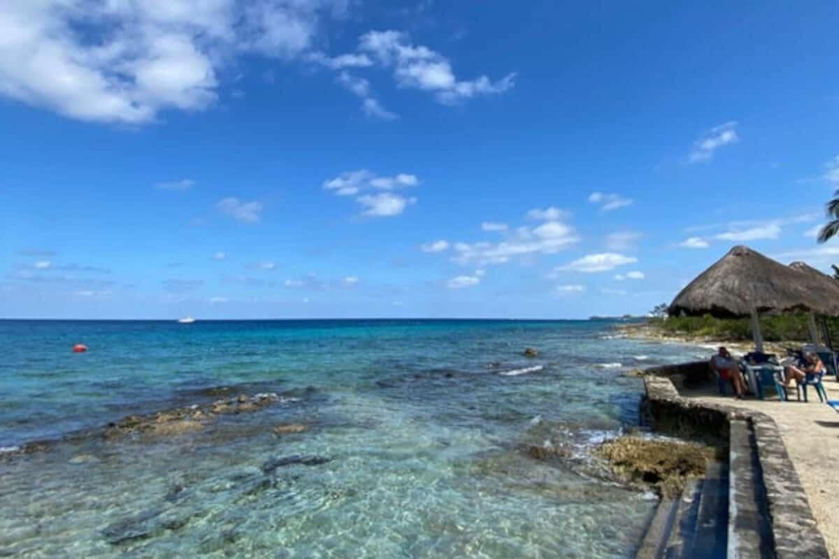 Playas públicas en Cozumel - Playa Corona