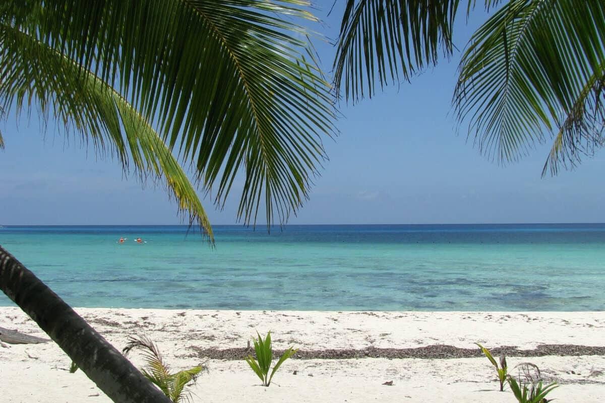 Playas públicas en Cozumel - Playa Palancar