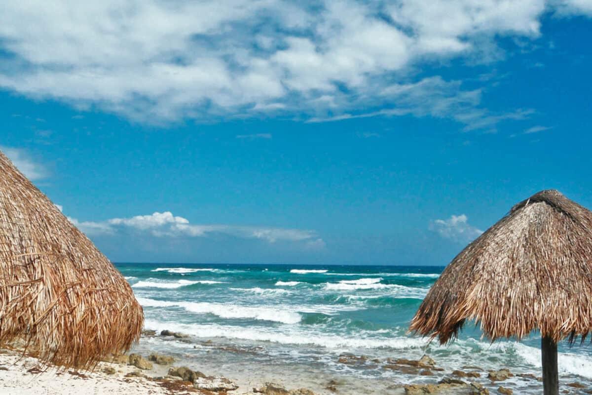 Playas públicas en Cozumel - Playa Punta Chiqueros