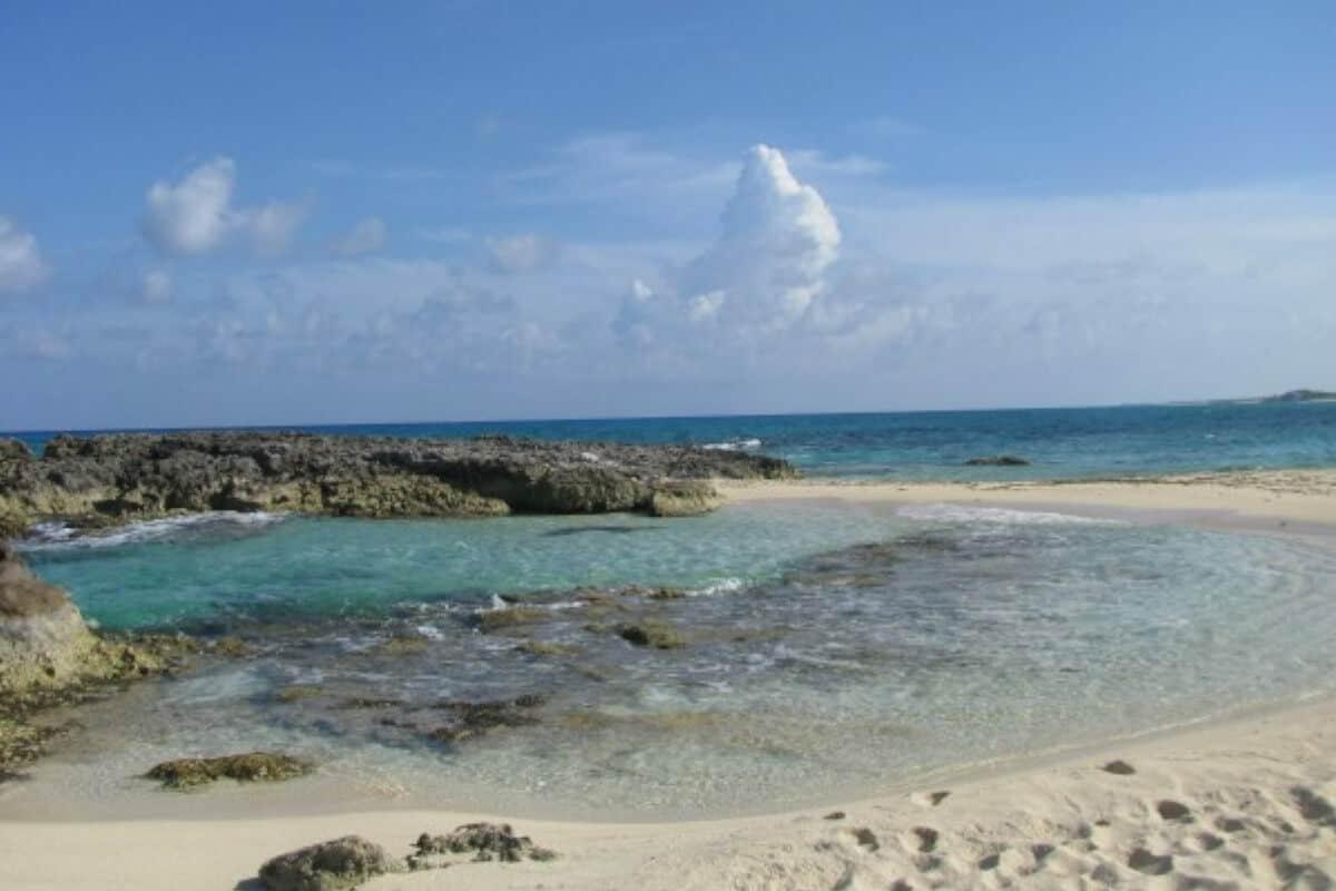Playas públicas en Cozumel - Playa Punta Morena