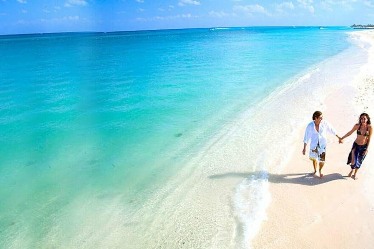 Playas públicas en Cozumel - Playa San Juan