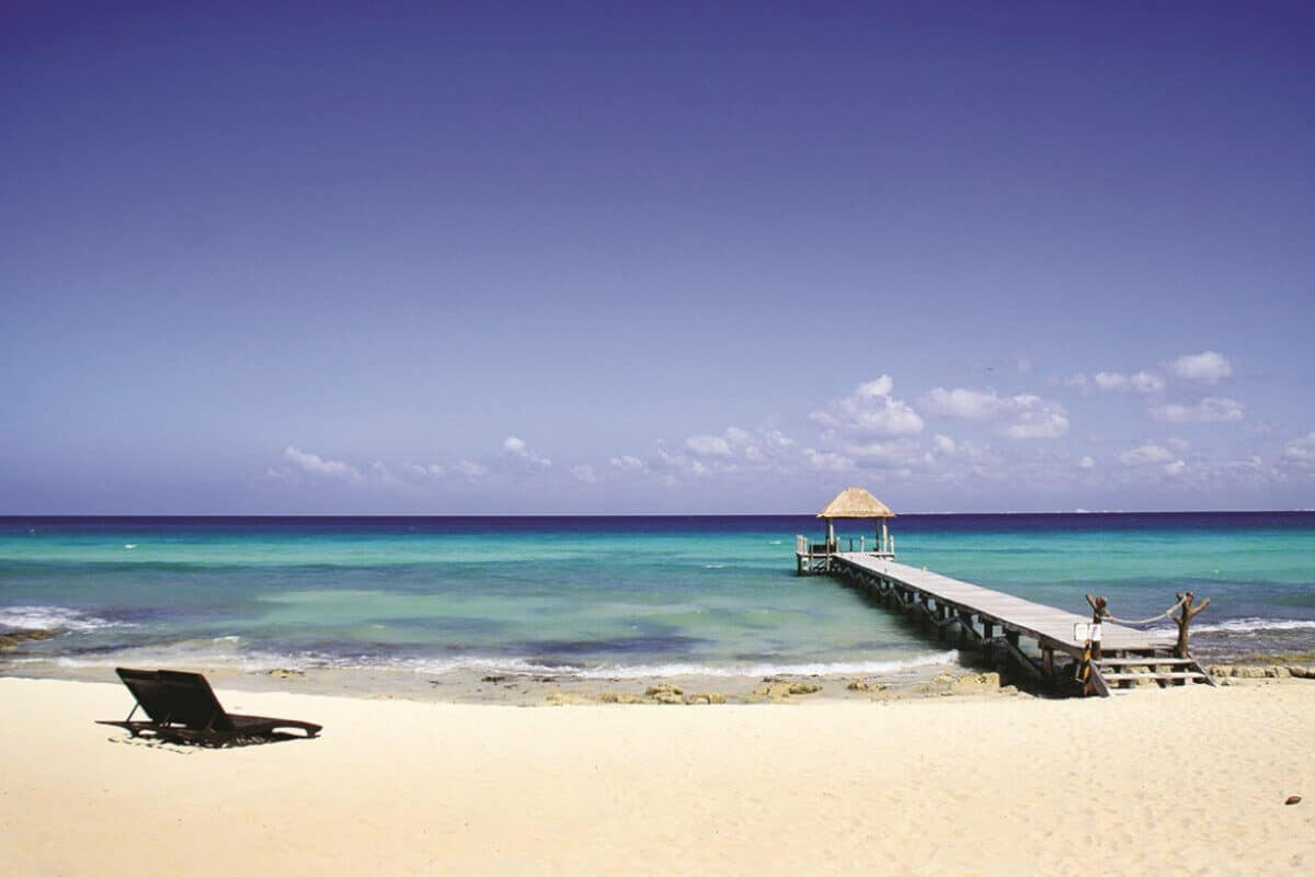 Playas públicas en Playa del Carmen - Playa Xcalacoco Beach