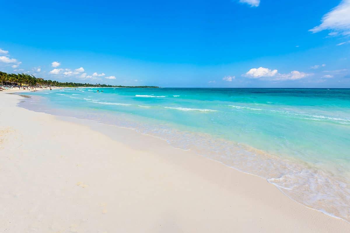 Playas públicas en Playa del Carmen - Playa Xpu-Ha