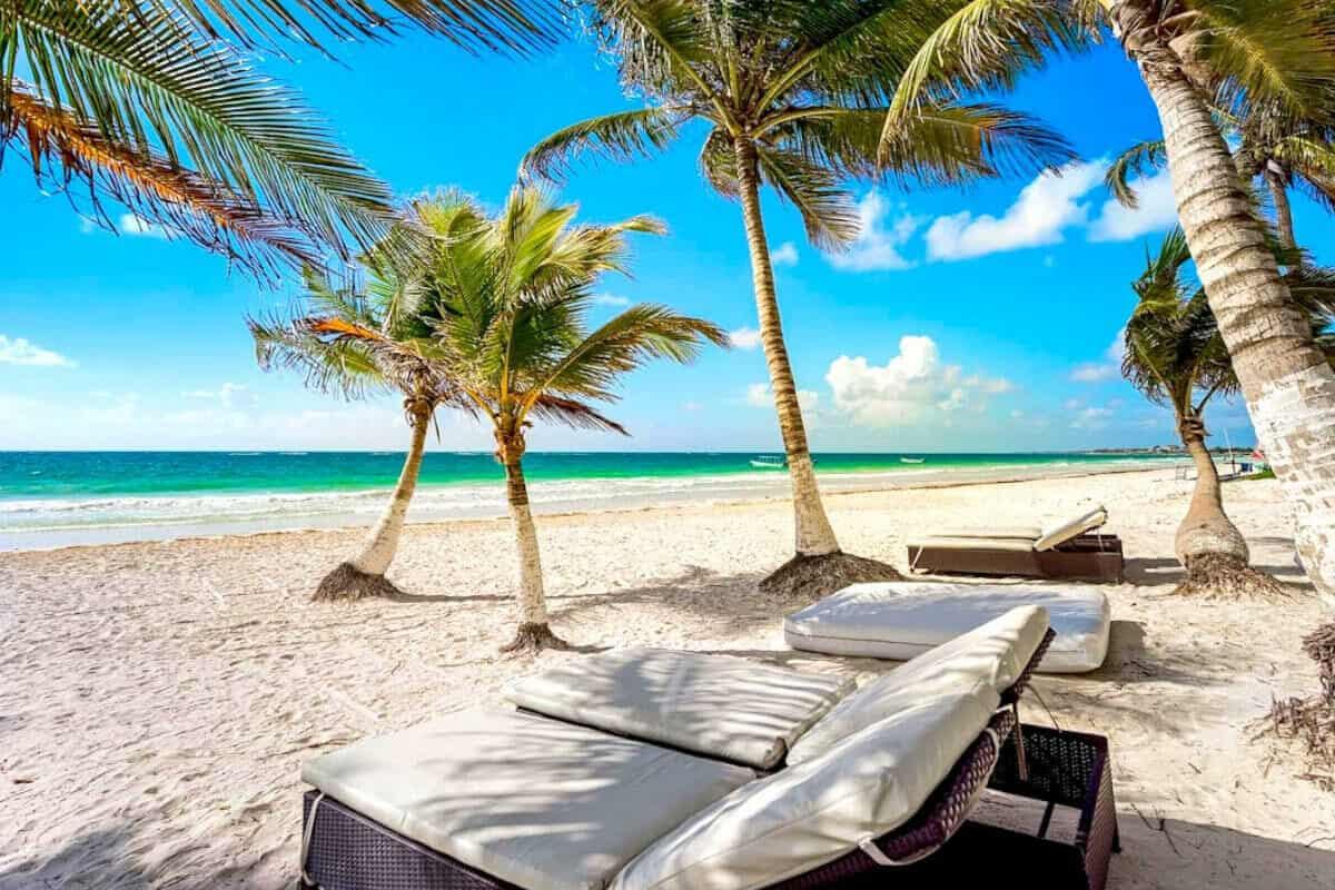 Playas públicas en Tulum - Playa Paraíso