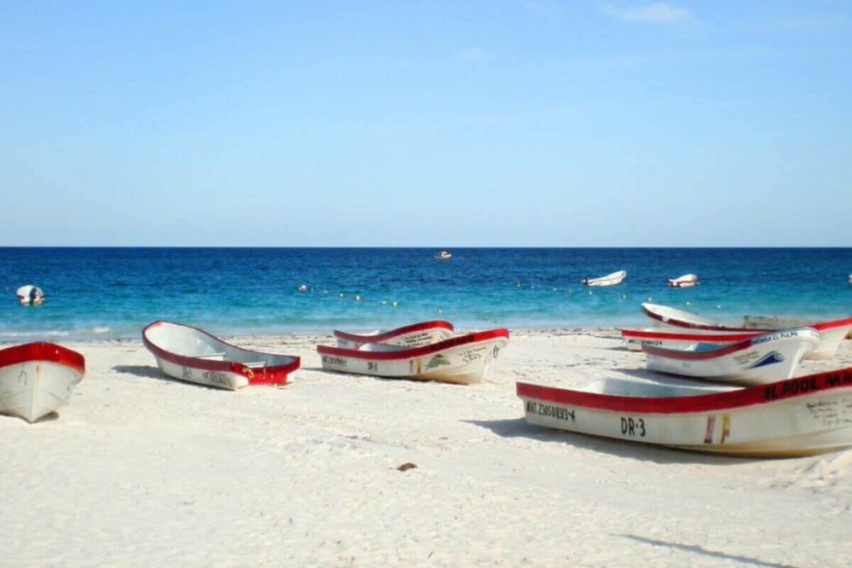 Playas públicas en Tulum - Playa Pescadores