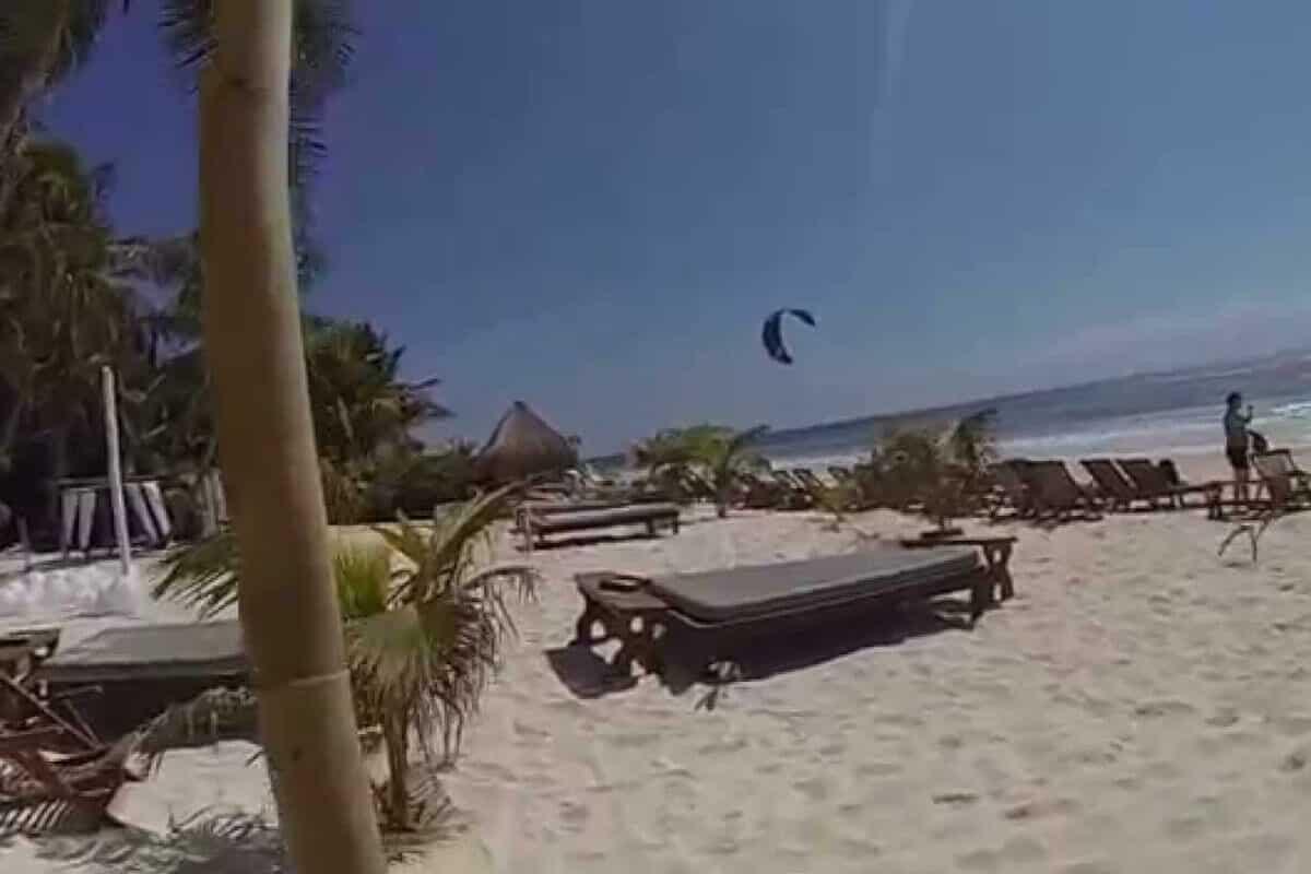Playas públicas en Tulum - Playa Pico Beach