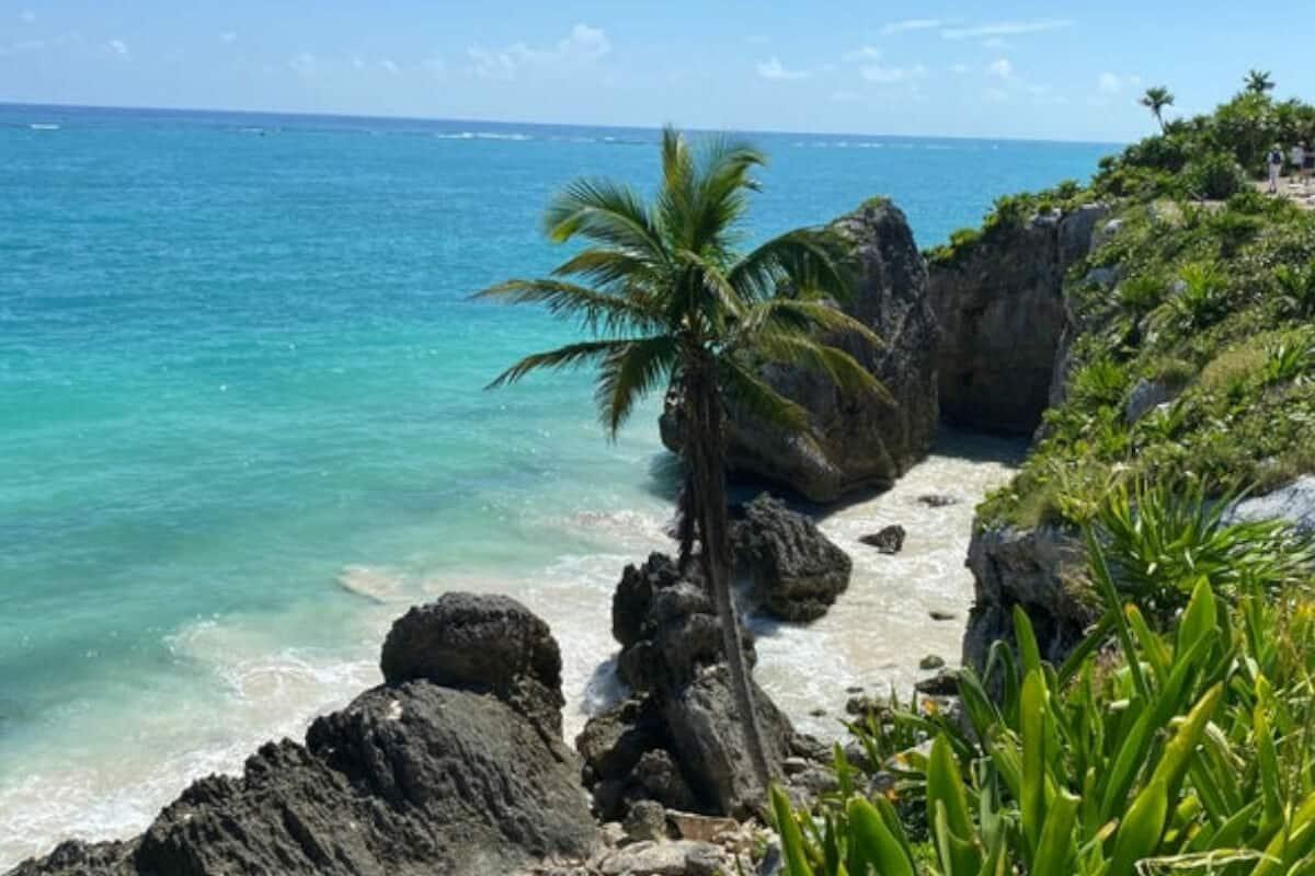 Playas públicas en Tulum - Playa Roca