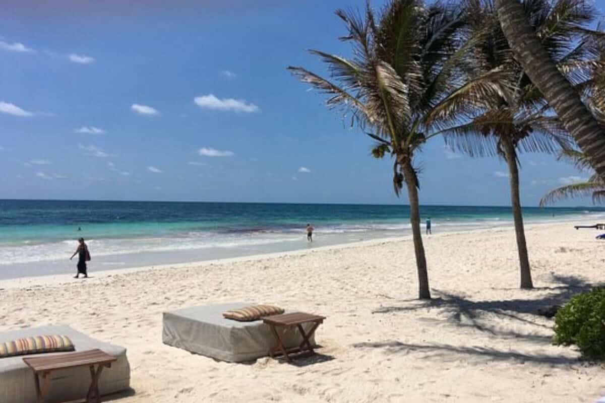 Playas públicas en Tulum - Playa Ziggy